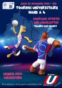 Nancy-Metz : Tournoi de Handball 4x4 @ Gymnase des Aiguillettes | Villers-lès-Nancy | Grand Est | France