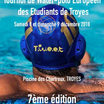 REIMS : Tournoi de Water-polo Européen des Etudiants de Troyes