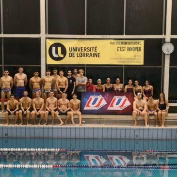 Nancy-Metz : Championnat Académique de Natation