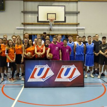 Nancy-Metz : Tournoi universitaire #2 de Basket 3×3