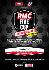 Nancy-Metz : RMC Five Cup @ Le Five Nancy | Heillecourt | Grand Est | France