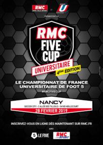 Nancy-Metz : RMC Five Cup @ Le Five Nancy | Heillecourt | Grand Est | France