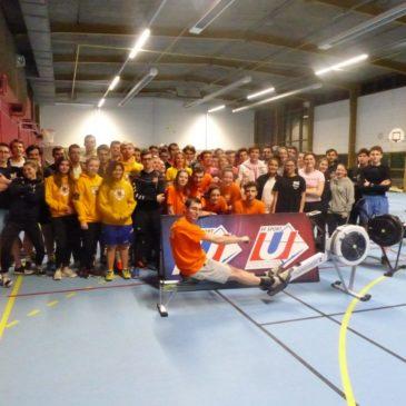Nancy-Metz : les étudiants rament pour le Challenge !