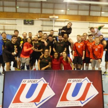 Nancy-Metz : Championnat Académique de Volley 4×4
