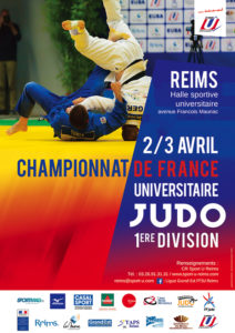 Reims : Championnat de France Universitaire de JUDO @ Halle Universitaire Croix-Rouge | Reims | Grand Est | France