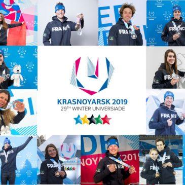 29ème Universiade d'hiver – Krasnoyarsk 2019 :  la France égale son record de médailles !