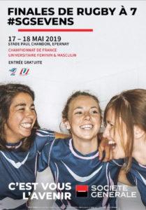 Championnat de France Universitaire Rugby à 7 @ Stade Paul Chandon    Épernay   Grand Est   France