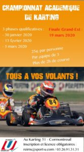 REIMS : Karting - Finale Grand-Est @ Karting 51 | Cormontreuil | Grand Est | France