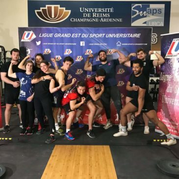 Reims: Compétition Haltérophilie Musculation et challenge Crosstraining
