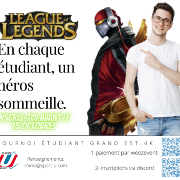 Grand Est : Tournois E-Sport